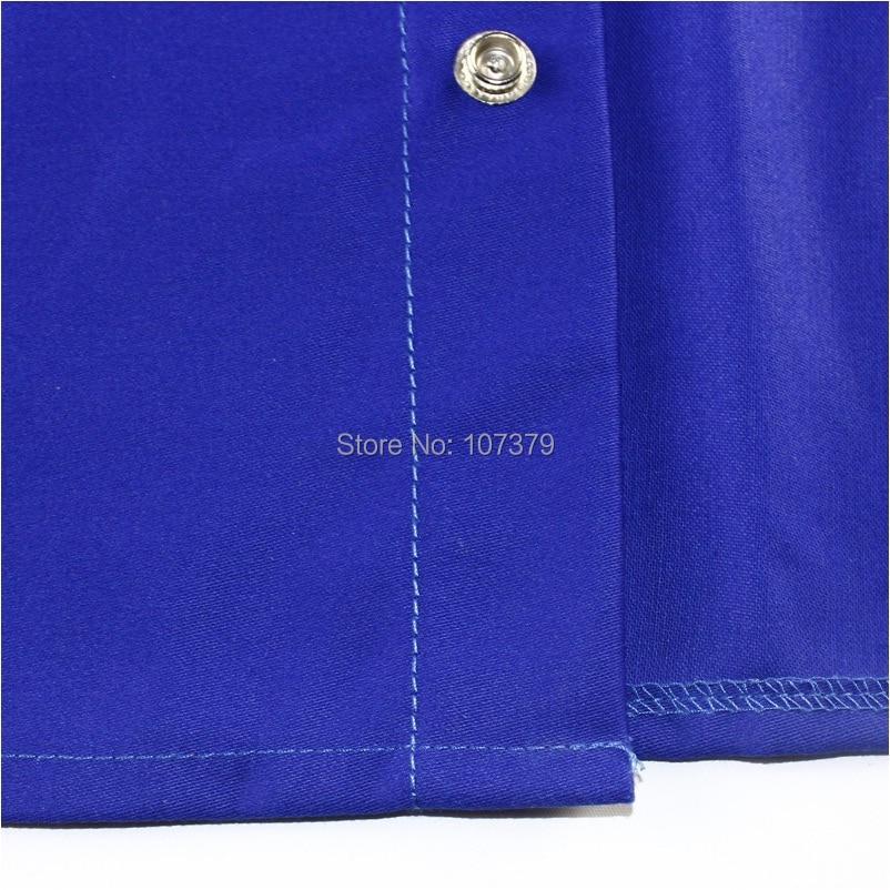 Șorț de sudură FR Bumbac Retardant Flamă Albastru Jacheta de - Securitate și protecție - Fotografie 5