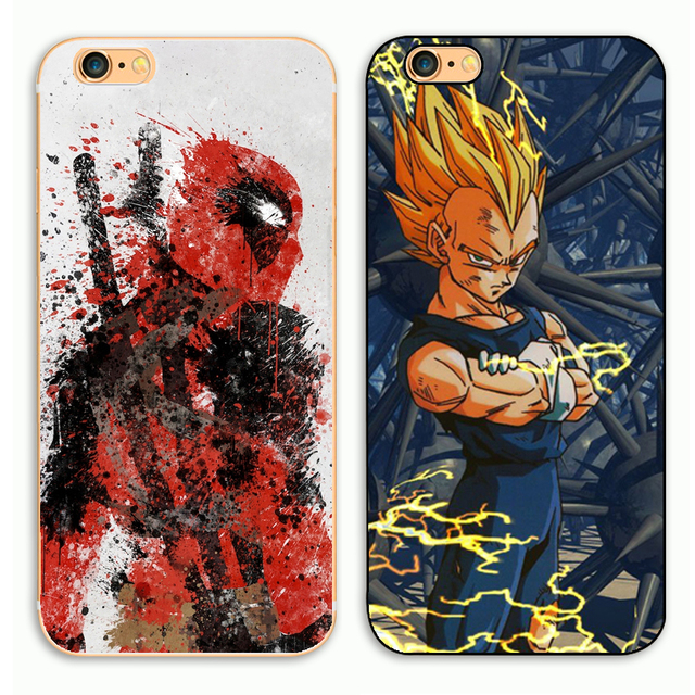 Japanese anime (From Deadpool) Combat  Phone Case For Apple iPhone 4 4S 5 5S SE 5c 6 6 S Plus