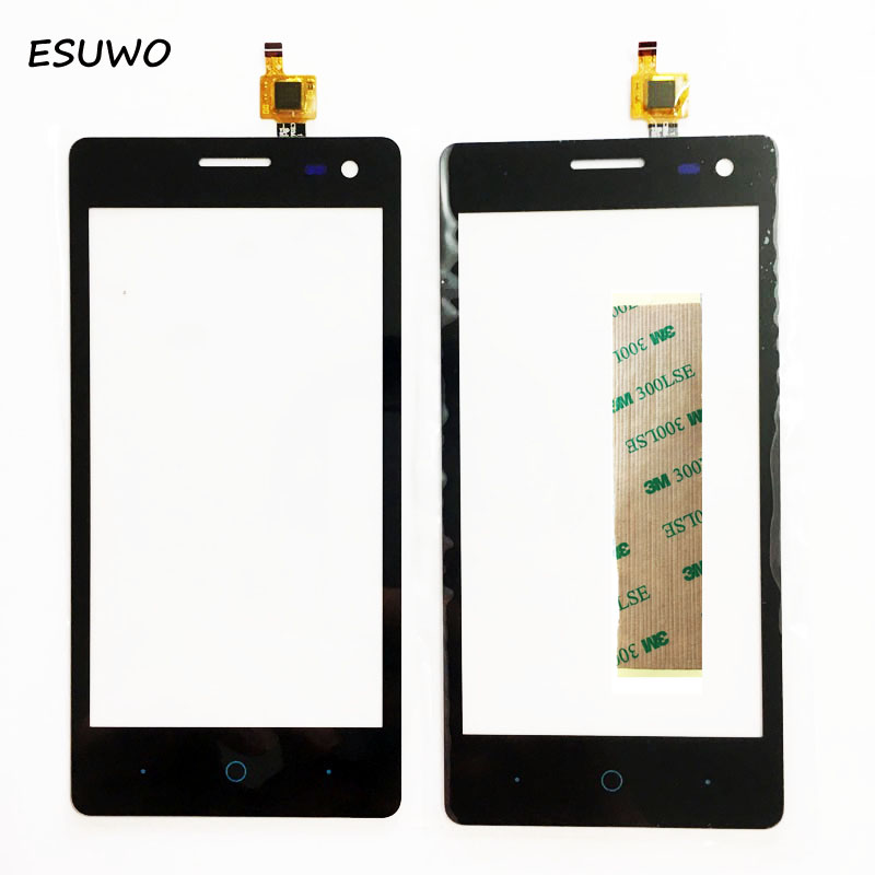 ESUWO 4.5 ''Capteur Écran Tactile Pour ZTE Blade GF3 Tactile Digitizer Écran Du Panneau Avant En Verre Extra-Lens + 3 m autocollant