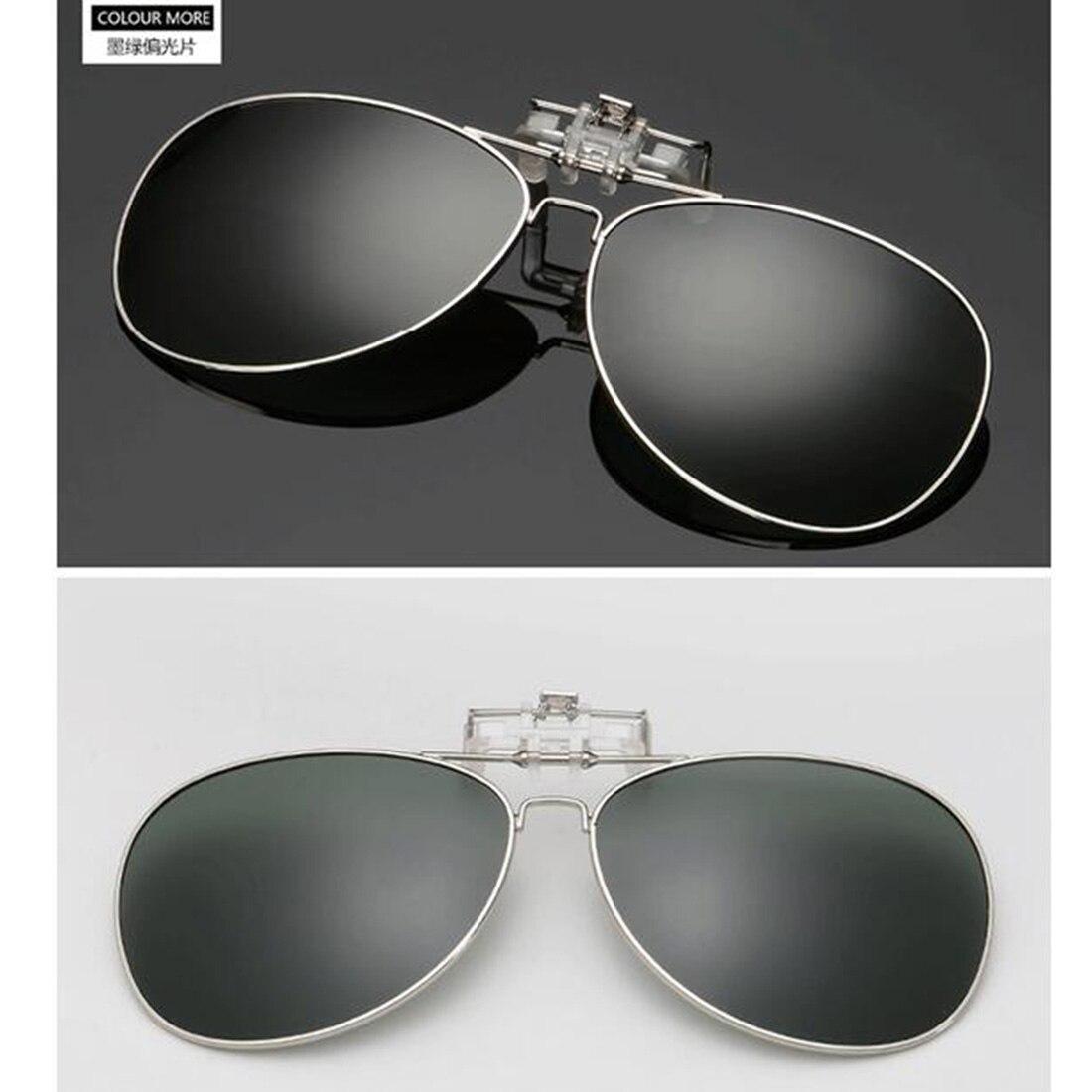 Clip On Sunglasses Polarized Polarised UV Driving Fishing Beach Boots Laser