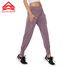 SYPREM Yoga Pants Modal yoga pants sports fitness mid waist elastic new girls leggings,YK80121