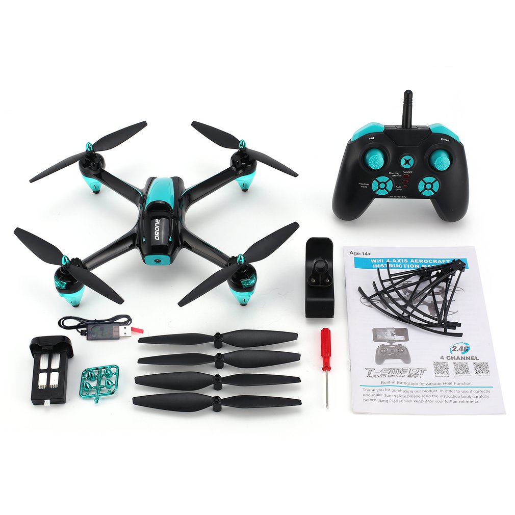 69H12 2.4G RC Selfie Smart Drone FPV Quadcopter Aircraft UAV with 720P HD Camera Real -time Altitude Hold Headless Mode69H12 2.4G RC Selfie Smart Drone FPV Quadcopter Aircraft UAV with 720P HD Camera Real -time Altitude Hold Headless Mode