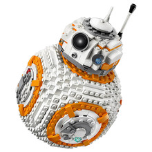 ZHILELE 05128 Star Toys Wars The Legoing 75187 BB8 Robot Set Building Blocks Bricks New Kids Toys Christmas Birthday Gifts Model(China)