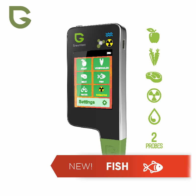 GREENTEST ECO 5F 3 in 1 Accuracy Read Digital Food Nitrate Tester Fruit Vegetable Nitrate Detection