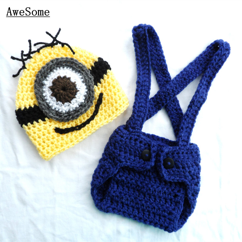 Free Shipping Minion Despicable Me Inspired Baby Boy Clothespure