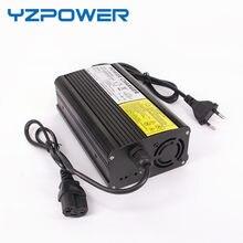 Yzpower auto-stop 50.4v 6a carregador de bateria de lítio para 44.4v li-ion lipo bateria ebike e-bike ferramentas
