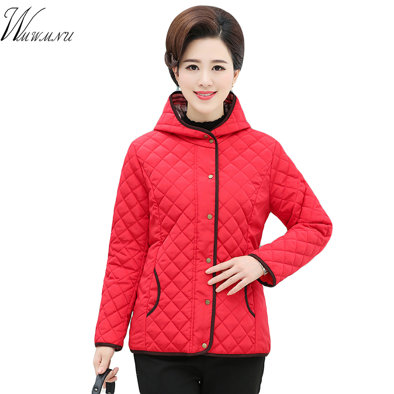 Women Casual Hooded Thin Cotton Padded Coat Hot Selling Warm Winter Outwear Slim Plus Size 4XL   Parka   Ladies Autumn Short Jacket