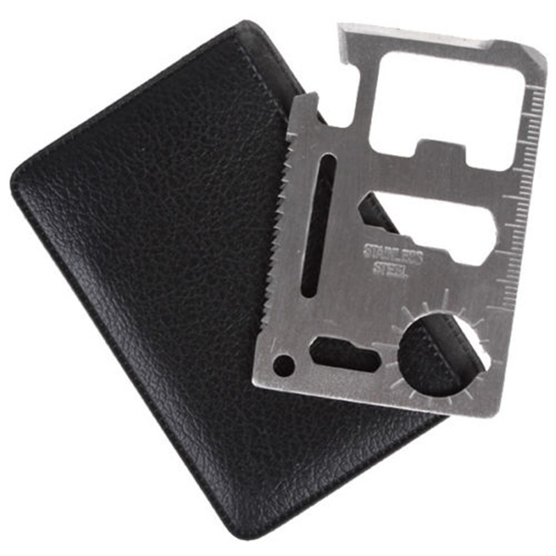 11 In 1 Multifunction Credit Card Beer Bottle Opener Stainless Steel Credit Card Shaped Bottle Opener Kitchen Tool Accessory