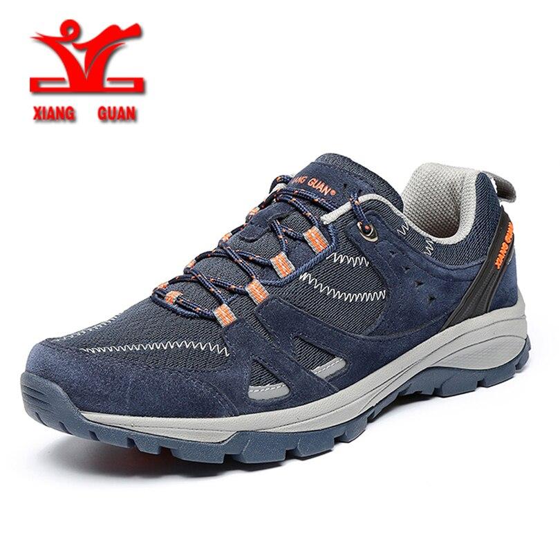 Xiangguan 男性ランニングシューズメッシュアウトドアスポーツスニーカー男性のための zapatillas やつフラットウォーキングトレンド  グループ上の スポーツ & エンターテイメント からの ランニングシューズ の中 1