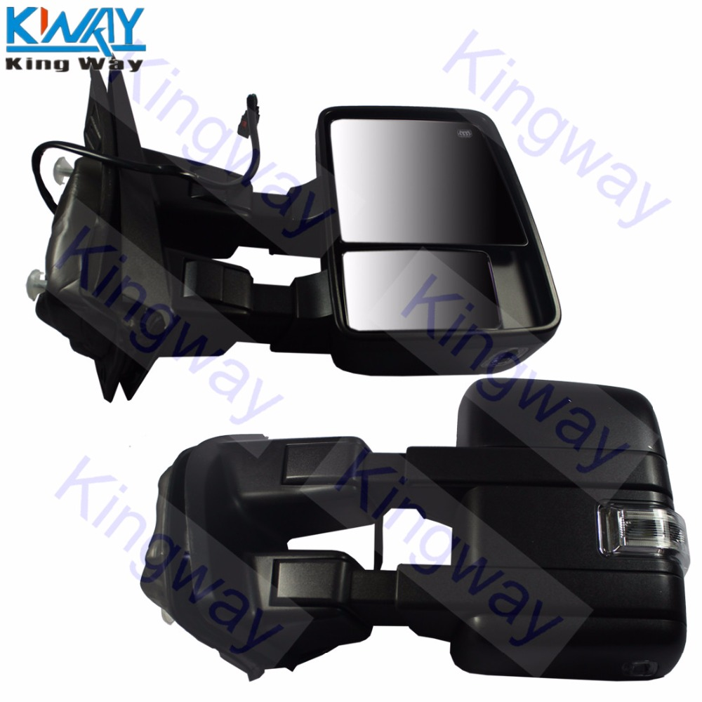 Towing Power Heated Signal Side View Mirror Passenger Right RH for Super Duty