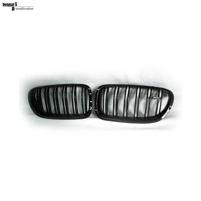 5 Серии F10 Гриль ABS Передний Почек Двойная Планка Замена Решетка для BMW 2010 + 520i 528i 530i 535i 550i 518d 520d 525d 530d 535d