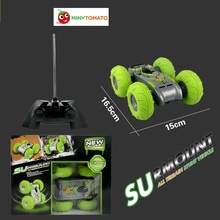 Free Shipping Rc All Terrain Stunt Racing Car 2 4GHz RC Cars Bouncing Flexible Wheels Remote