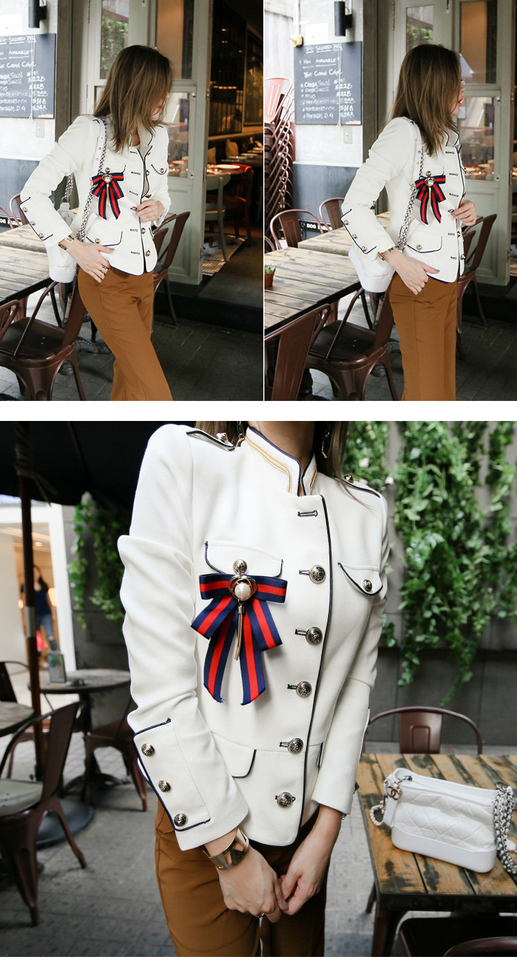 HTB1a0GsRpzqK1RjSZFCq6zbxVXaD - spring new arrival fresh high quality coat women fashion comfortable vintage elegant holiday solid cute work style jacket