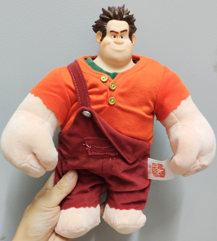 Plush Wreck-It Ralph stuffed soft toys, Breaks the Internet plush toys rompe ralph christmas gift toy for children