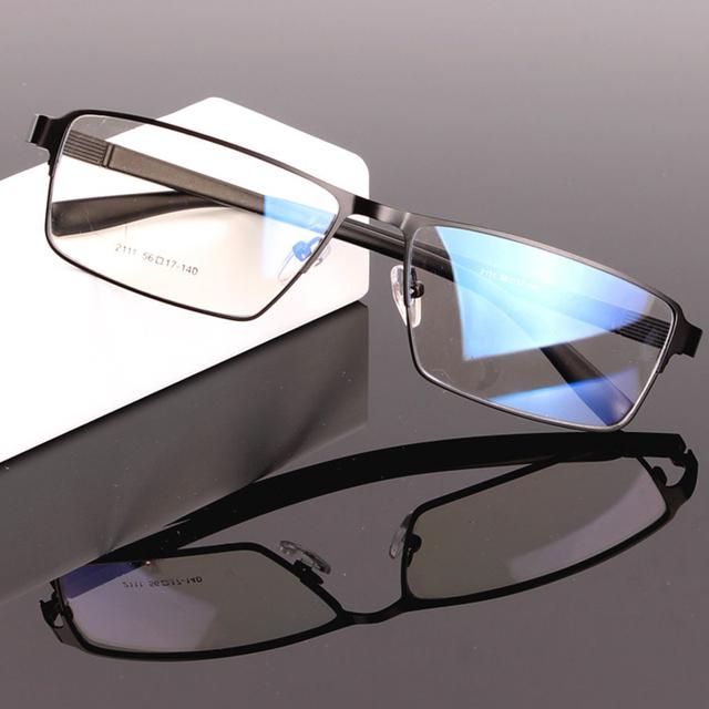 Hombres gafas de los Vidrios Ópticos para Lentes de Prescripción