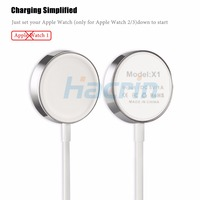 Hacrin For Apple Watch Charger 1m 3 2ft Magnetic Wireless Charging USB Cable Adapter Charge For