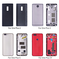 For OnePlus Battery Housing Cover For OnePlus 1+ A2001 A3000 A5000 A5010 Housing Back Door Cover For OnePlus 2 3 5 5T Back case