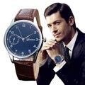 Excelente Qualidade Relógio de Quartzo Homens De Luxo Famoso 2016 relógio de Pulso Masculino Relógio Negócio Relógio de Quartzo Relógio de Pulso Relogio masculino