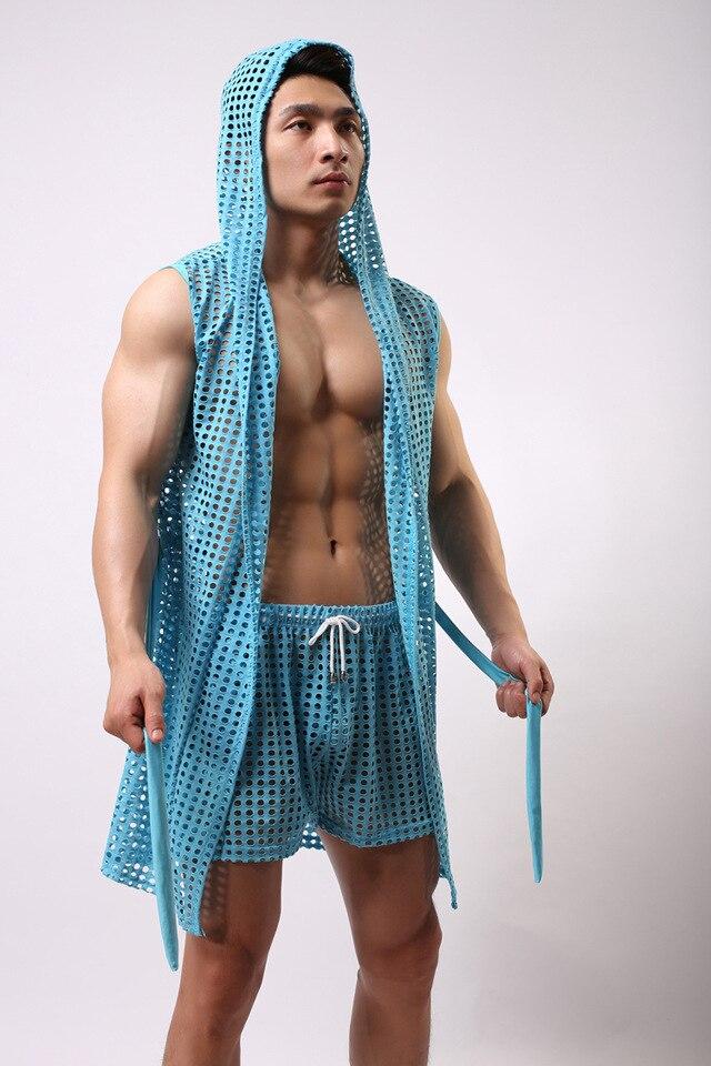 Mens Silky Robes