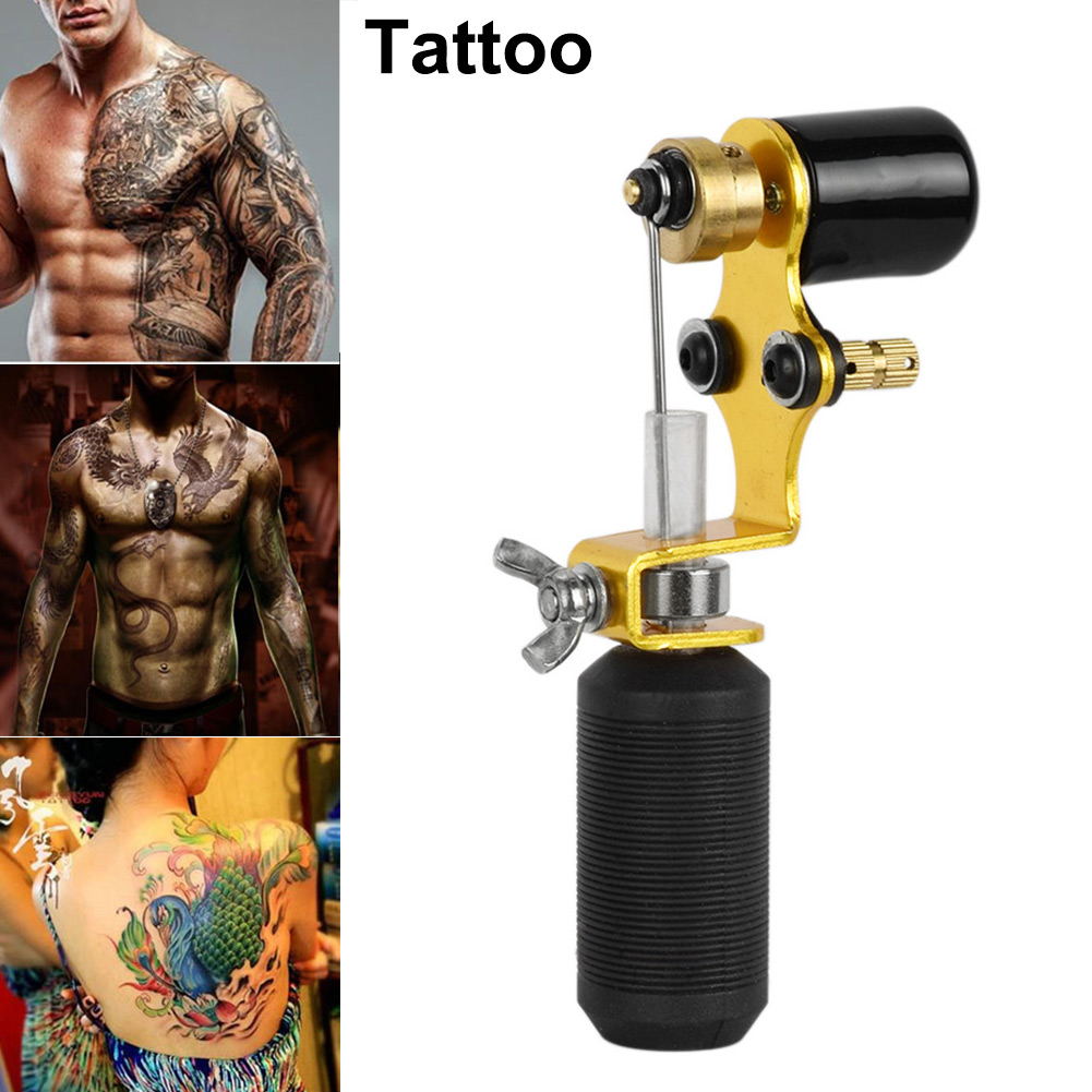 Tattoo Guns Tattoo Machine Shader & Liner Assorted Tattoo Motor Tool Kits  Supplies Pro Gold Color Tattoo Art Guns