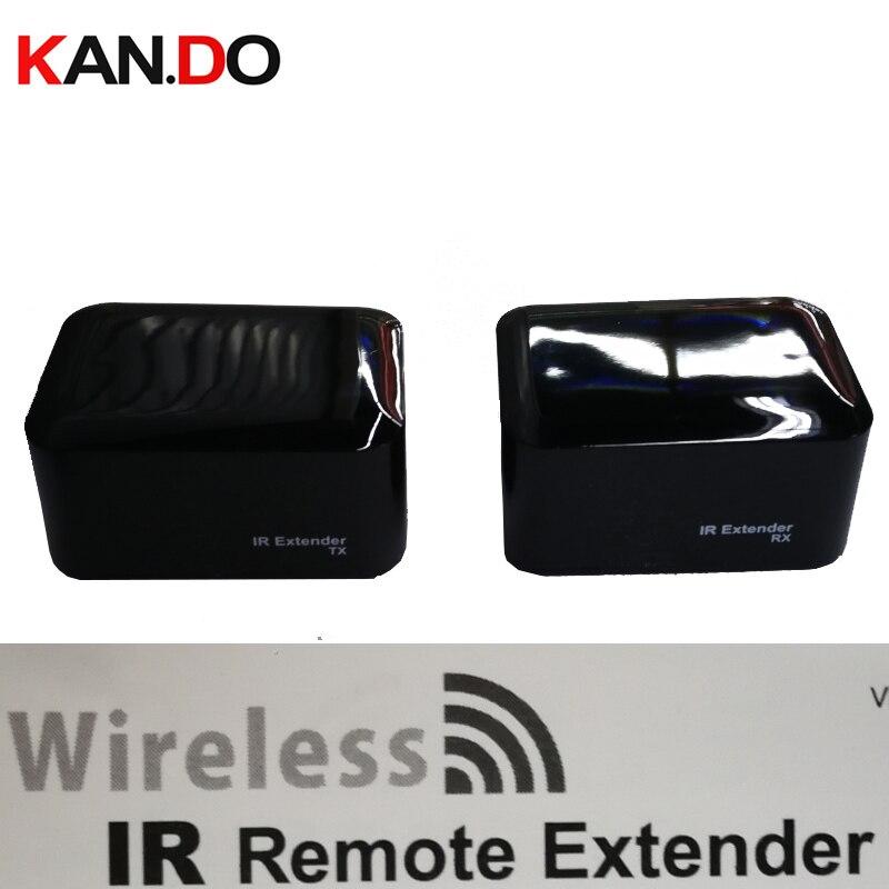 100 M à travail IR 433 mhz Sans Fil D'extension À Distance IR émetteur-récepteur appareils ménagers de contrôle tels que TV, DVD, DVR IR émetteur