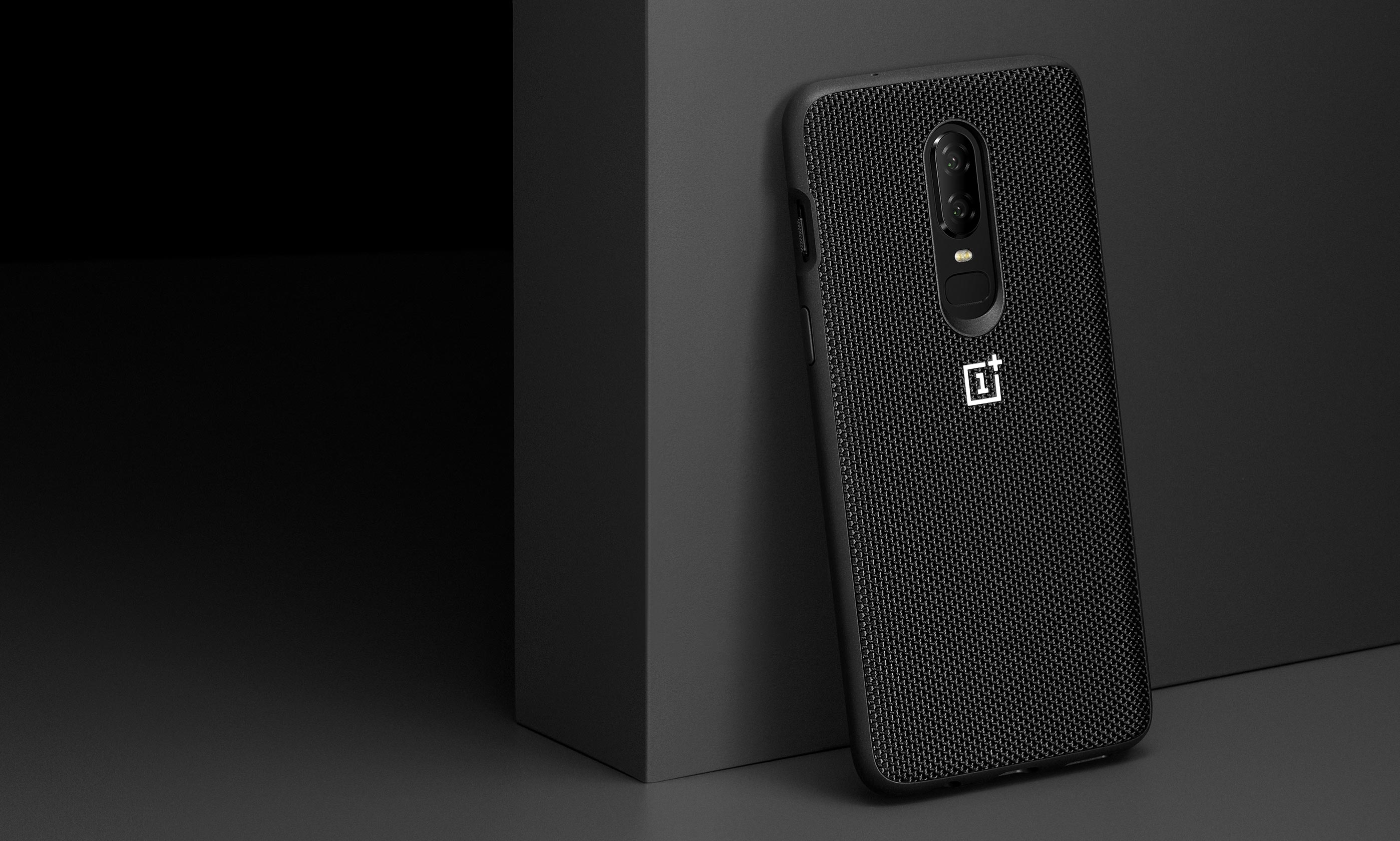 buy online 61823 ce948 Oneplus 6 Case 100% Original Official Sandstone Silicon Nylon Karbon Ebony  One Plus 6 6T Bumper Case Oneplus 6T Back Cover