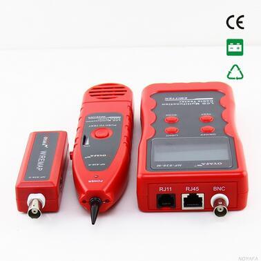 Livraison gratuite, NOYAFA NF-838 générateur de tonalité de traqueur de fil 5 types de câble peuvent être tracés situés: RJ45/RJ11/BNC/USB/1394 - 2