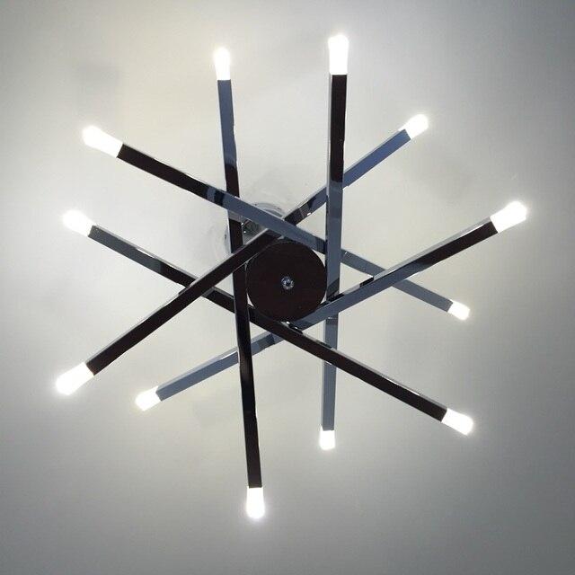 Cafe modern g4 led pendant lights 12 pcs ce contemporary lamp holder cafe modern g4 led pendant lights 12 pcs ce contemporary lamp holder metal rod chrome star aloadofball Images