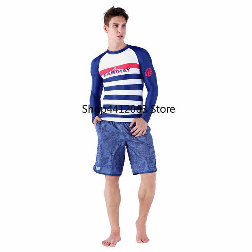 يحب بأكمام طويلة ليكرا الأزواج قميص السباحة الغوص تصفح شاطئ جاف سريعة مطاطا المياه الرياضة السباحة السباحة