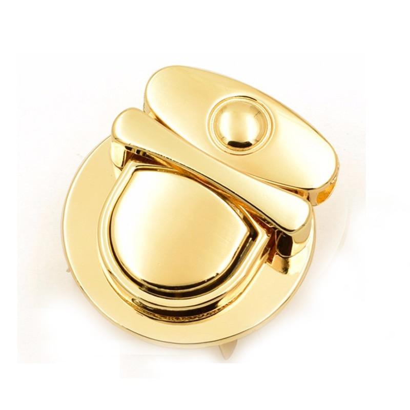 Metal Thumb Catch Bag Lock Gold Bag Purse