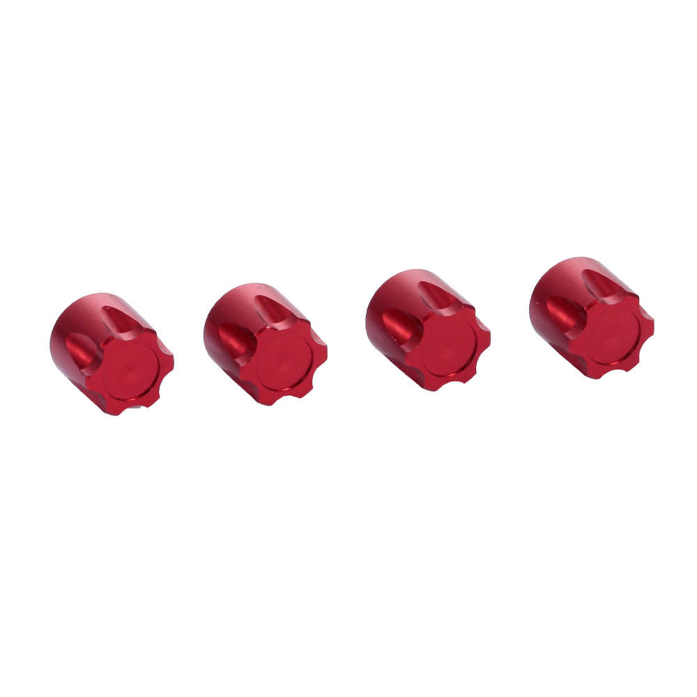 4 stuks RC Auto Velg Center Cap M4 Moer Metalen voor 1/10 RC Crawler Traxxas HSP Redcat Rc4wd Tamiya axiale Scx10 D90 HPI Onderdelen