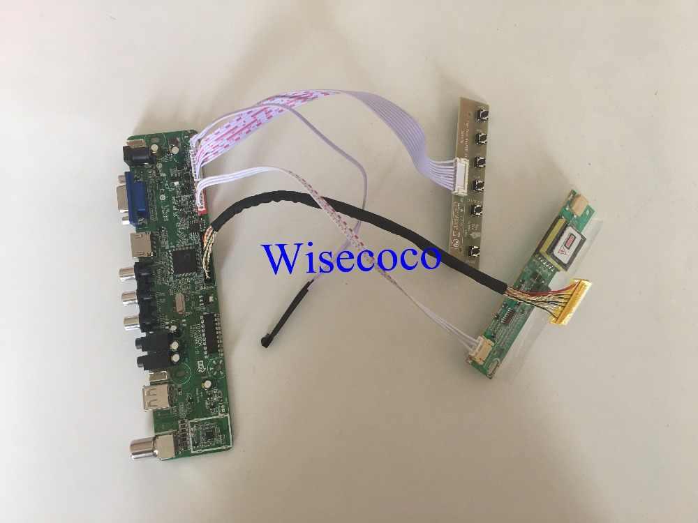 TV+VGA+HDMI+AV+USB+Audio LCD controller board For 15 4