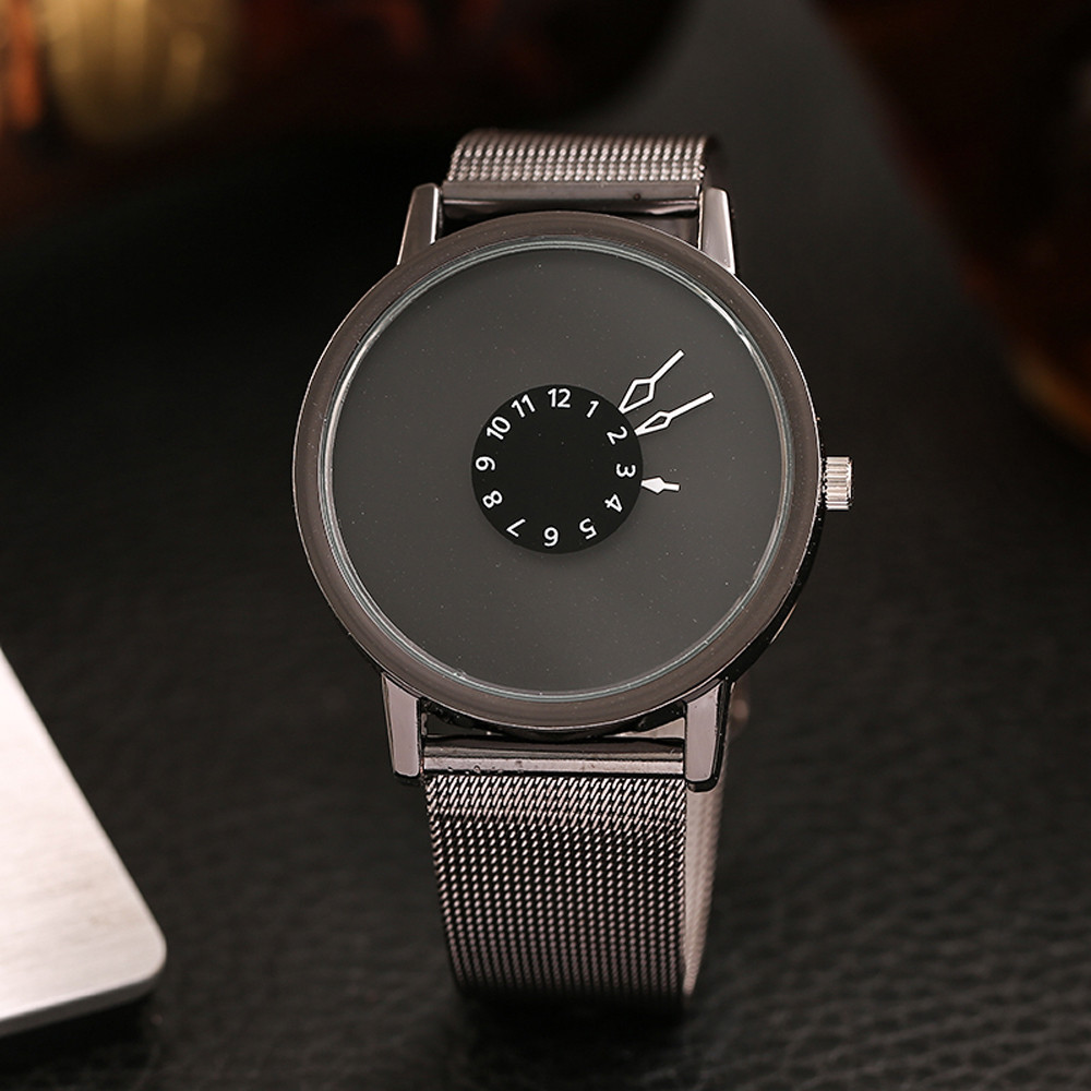 Fashion Women Casual Milanese Quartz Analog Wrist Watch Women's Watches Relogio Feminino Features Stainless Steel Clock New B30