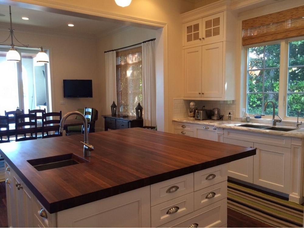 hecho gabinetes de cocina de madera al por menor al por mayor de descuento