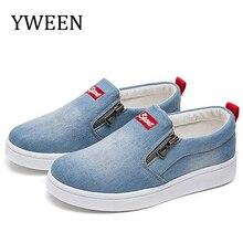 YWEEN Wholesale Women shoes new fashion denim women casual shoes