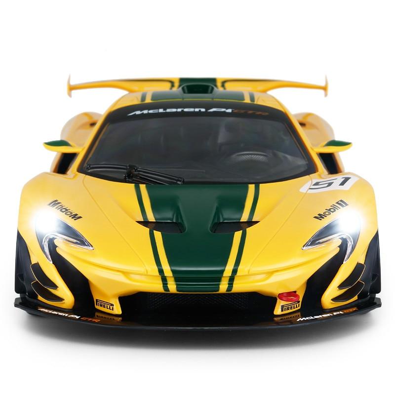 1:14 voiture télécommandée pour Mclaren P1 GTR Version de course Supercar sport de luxe voiture RC modèle adulte enfant jouet pour garçons enfant cadeau - 2