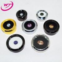 Wholesale Lot Of 30pcs Loose Diamond Jewelry Display Case Holder Gem Stone Show Storage Gemstone Beads