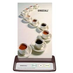 Singcall Беспроводной вызова Системы, 3 Ключи кнопку, ресторан, кафе пейджер, кофейного цвета