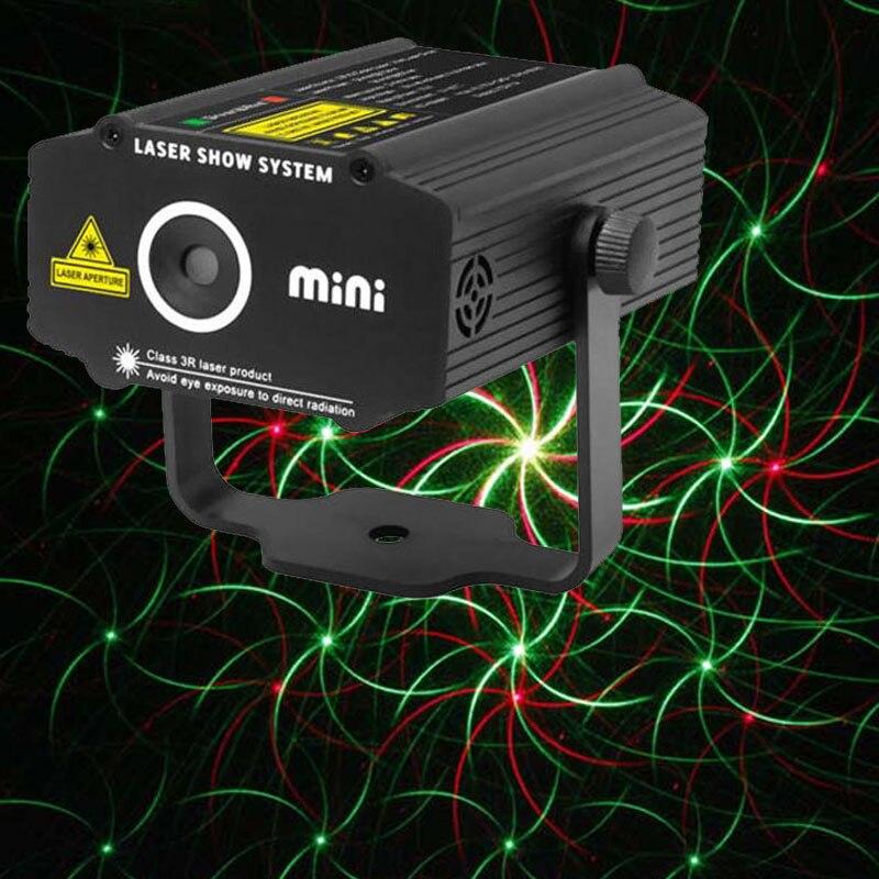Home Disco Lights: Mini Laser Stage Light DJ Home Party Lights For Sale Red