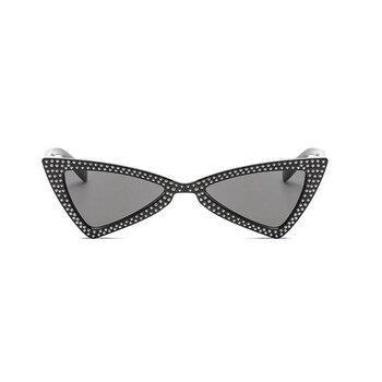 Brenda Rhinestone Sunglasses Accessories Sunglasses af7ef0993b8f1511543b19: C1 Black Gray|C10-White-Gray|C2-Black-Pink|C3-Black-Blue|C4-Black-Yellow|C5-Red-Gray|C6-Pink-Gray|C7-White-Red|C8-White-Blue|C9-Beige-Gray