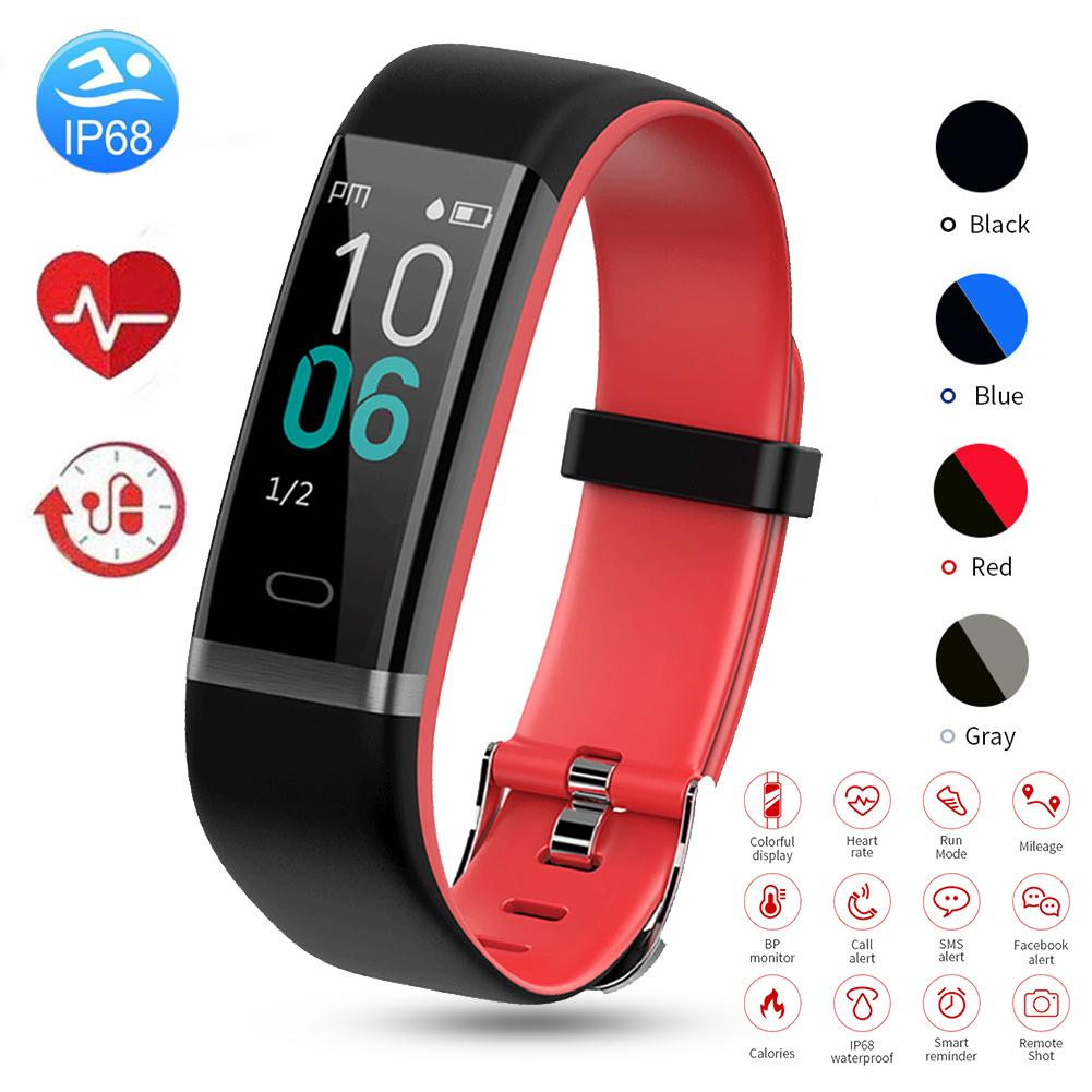 Y19 Color Screen Smart Bracelet Female Physiological Cycle Monitoring IP68 Waterproof Swimming Sports Watch