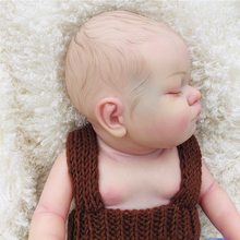 Hand painted silicone reborn baby dolls bebes reborn high end toy realistic newborn babies 50 cm alive doll gift Fast Shipping ivita 16inch 2kg boy eyes opened silicone reborn dolls baby alive realistic doll reborn dolls babies silicon kids dolls newborn