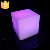 10cm Modern Style Light Up 7 Colors Changing Led Table Lamps For Coffee Bar Free Shipping