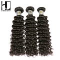 5A HJ Weave Beauty Unprocessed Indian Deep Curly Virgin Hair Human Hair Bundles Weave No Tangling Best End 3Pcs/lot