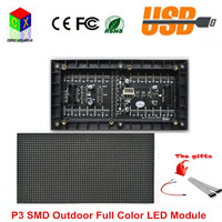 P3 Indoor SMD Full Color LED Display Module 192mm X 96mm 64 32 Pixle 1 16