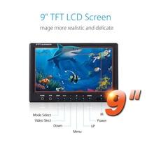 EYOYO 30M 9″ HD 1000TVL 92degree Infrared Fishing Camera Video Fish Finder Waterproof Recorder DVR 8GB Full Silver Invisible