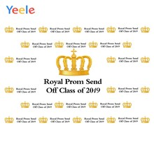 Yeele Grad Royal Prom Photocall Party Customized Photography Backdrops Personalized Photographic Backgrounds For Photo Studio(China)