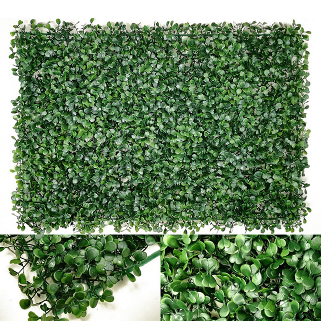 2018 Hedge Plant Decorative Creative Artificial Plant Fake Plant For Wall Garden New Arrival