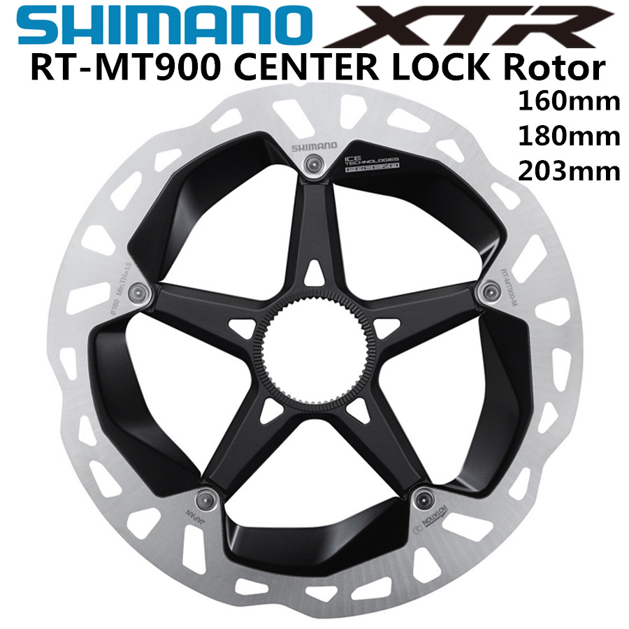 SHIMANO DEORE XTR SM RT MT900 ice Point Technology Brake Disc CENTER LOCK Disc Rotor Mountain