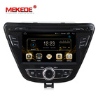 4G LTE Android7.1 2G RAM 16G ROM HD touch screen car audio for Hyundai Elantra 2013-2015 with dvd player gps navigator mic gift